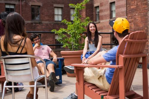 【HI New York City Hostel】Comfortable time