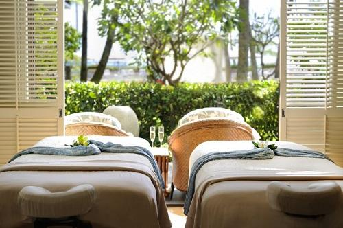 ■ハレクラニ/Spa for couples:Photo Courtesy of Halekulani
