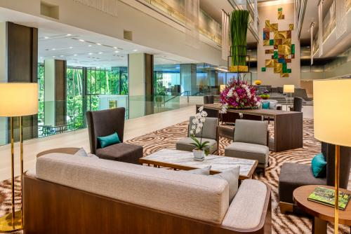 Movenpick BDMS Wellness Resort Bangkok/落ち着いたロビー周り
