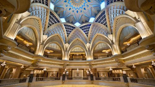 Emirates Palace Hotel 館内イメージ