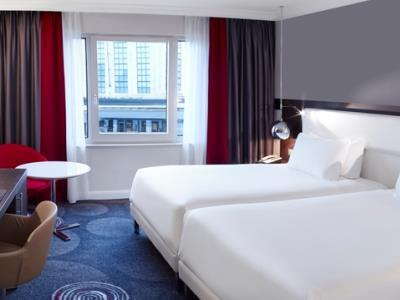 Hilton Brussels Grand Place お部屋一例(C)MIKI TRAVEL