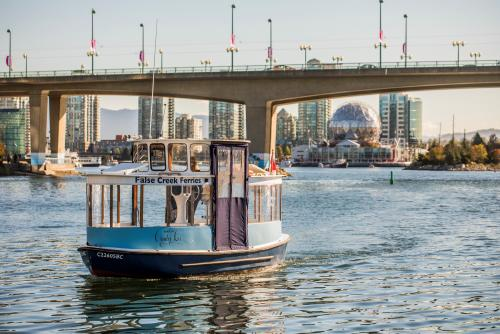 *False Creek passenger ferry (C)Tourism Photos