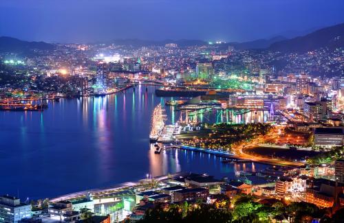 【長崎】世界新三大夜景!市内の夜景