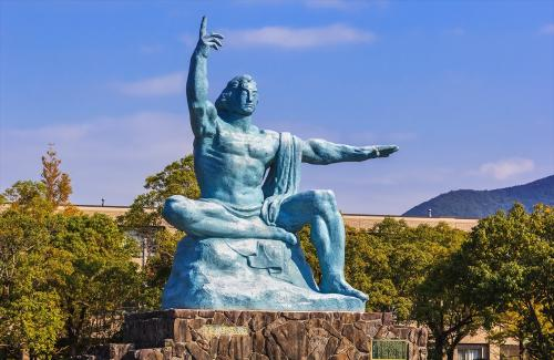 【長崎】平和記念公園平和の像