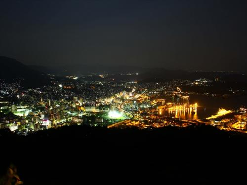 【佐世保】弓張岳からの夜景