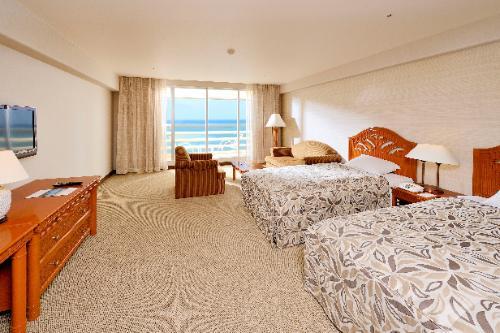 スタンダード オーシャンビューのお部屋(イメージ)/(C)ホテル提供