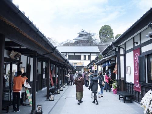 【熊本】桜の馬場 城彩苑(桜の小路)