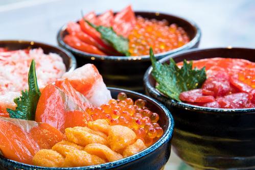 【北海道】海鮮丼(イメージ)