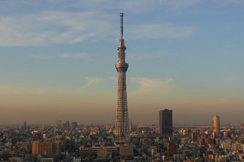 【東京スカイツリー】 写真提供:(公財)東京観光財団