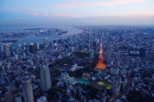 【都心空撮】 写真提供:(公財)東京観光財団