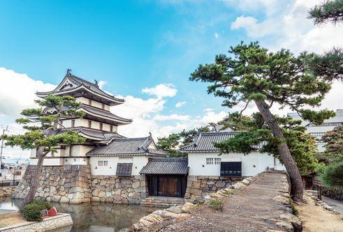 高松城の景観