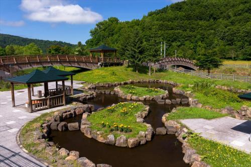 【旭川】21世紀の森 水辺公園 (写真提供:上川総合振興局)