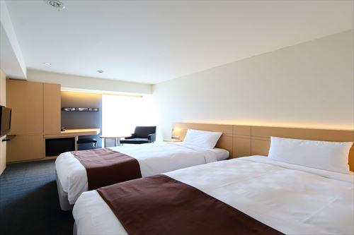 スタンダードツイン(イメージ)博多東急REIホテル