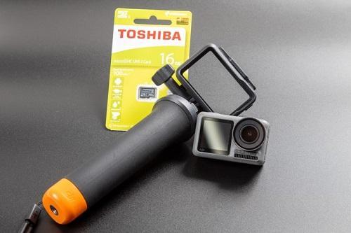 高性能のActionカメラ!嬉しいSDカード付き(イメージ)